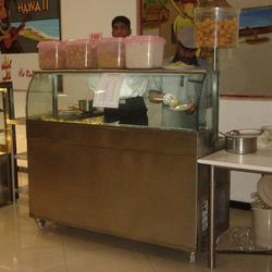 Bhel Poori Counter