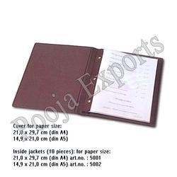 Hotel Menu Folder