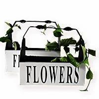 Metal Flower Planter