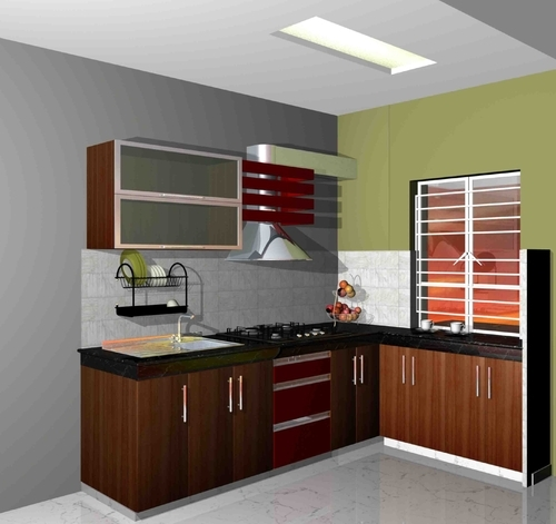 Kitchen Interior In Kolkata Vip Road By Ashiana Id 2076657455