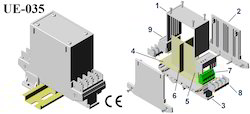 Din Rail Enclosures 112x88x40