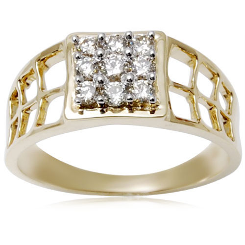 c18f76c2e Mens Diamond Gold Ring at Rs 27537 /piece | Tilak Nagar | Jaipur ...