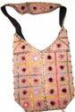 Boho Mirror Work Shoulder Bags