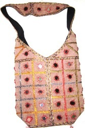 Boho Mirror Work Shoulder Bags