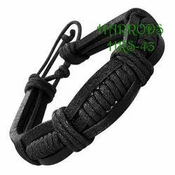 Single color Leather Bracelets