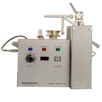 Fiber To Fiber Cohesion Or Friction Force Tester - Spinnability Of Fibres