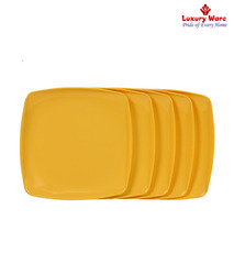 Yellow Full Square Plates