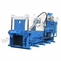 Double Front Ejection Iron Scrap Baling Press