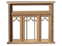 Designer Wooden Window