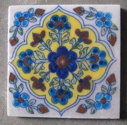 Matt Square Ceramic Wall Tile, Thickness: 5-10 mm