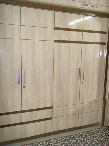 Plywoods Standard Bedroom Wardrobes, Rs 1500 /square feet, Nicewood ...