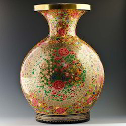 Hand Painted Flower Vase At Best Price In India