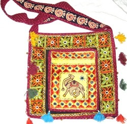 Boho Embroidered Shoulder Bags