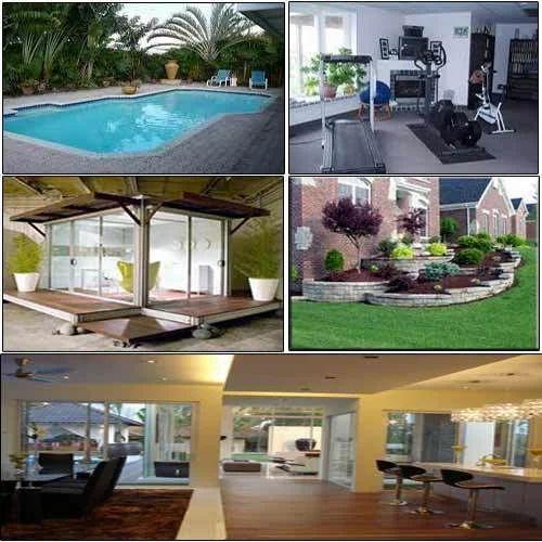bungalow interior designing, interior decoration service