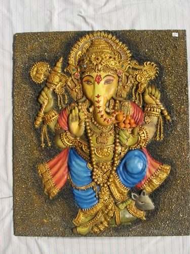 3d Ganesha Painting - View Specifications & Details of ...