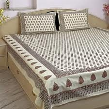Bagru Print Bed Sheets