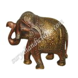 Wooden Antique Elephant