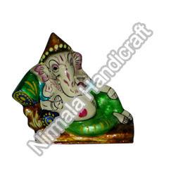 Metal Meena Ganesha Statues