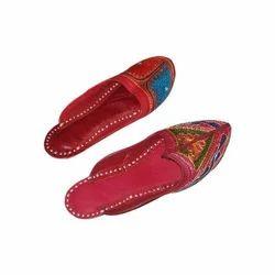 Ladies Ethnic Slippers