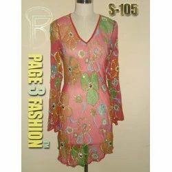 Ladies Flower Printed Designer Tunic