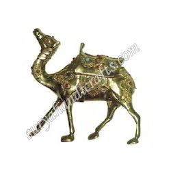 Brass Stone Camel