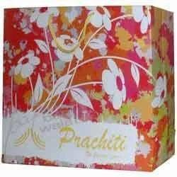 Flower Design Laminated Bag