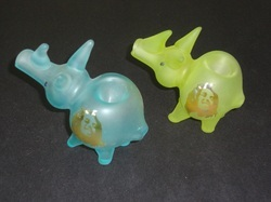 Glass Animal Smoking Pipes