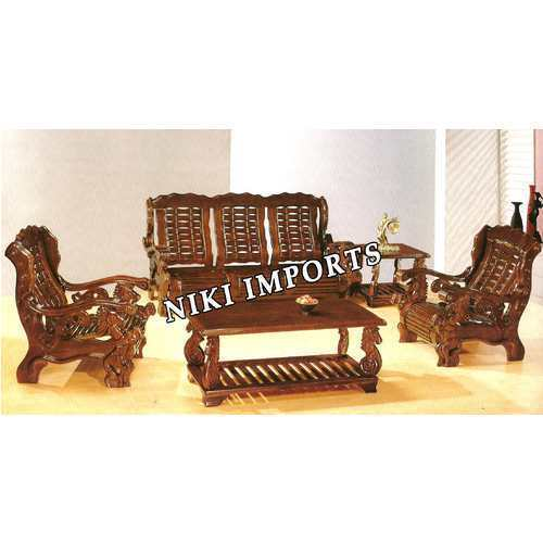Designer Wooden Sofa At Rs 45000 Nos Wooden Sofa Set Id