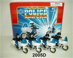 Police Motorcycle (2005D)