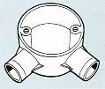 Round Conduits Fittings Angle