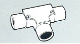 Round Conduits Fittings Inspection Tee