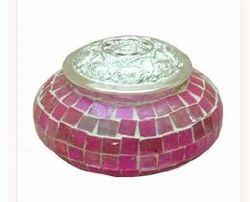 Glass Pot Pourri Jar
