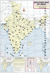 July Weather Map Of India