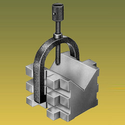 Hardened V Blocks With Clamps