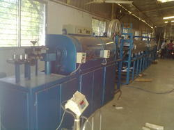 Fiberglass Covering Machine