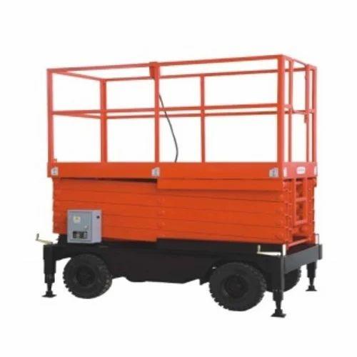 Hydraulic Scissor Lifting Machines - Hydraulic Scissor Lift