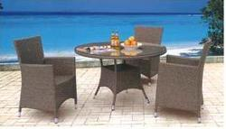 Garden Rattan Royal Furniture Set