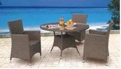 Garden Rattan Royal Furniture Set