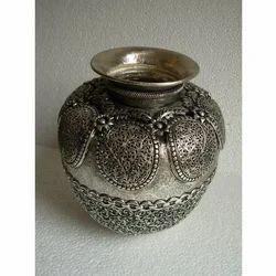 Copper Pot Carved