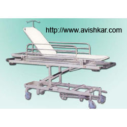 Emergency & Recovery Trolley HI- Lo, Raising Backrest