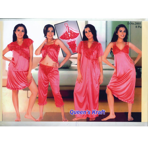 8 PCS. Set Bridal Nightwear - View Specifications & Details of ...