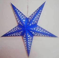 Blue Paper Stars