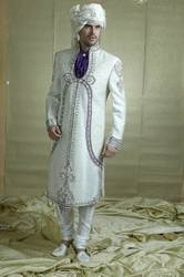 Groom Embroidered Sherwani