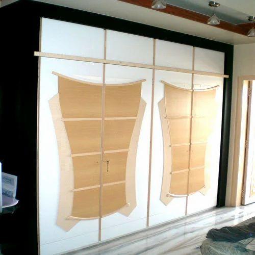 Residential wardrobe design bedroom design home interior for Indian wardrobe interior designs