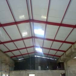 Insulated PUF Panels Installation