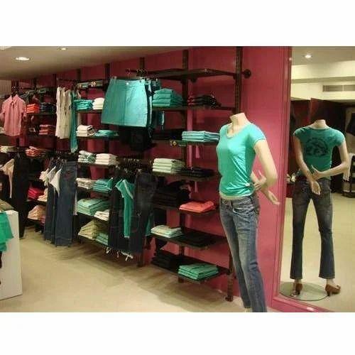 Pillar Racks For Garments Hanging And Shelving Pole