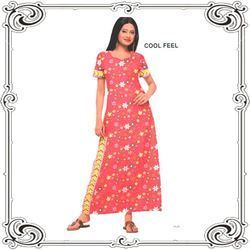 Ladies Cotton Gown At Rs 180 Pieces Cotton Nightgown Id