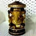 Wood Carved Lord Ganesha