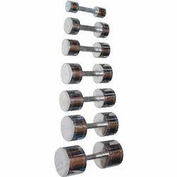 Solid Steel Dumbbells