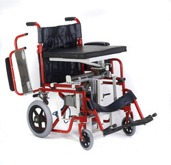 Seat Up And Sliding Wheelchair Powered